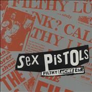 Click here for more info about 'Sex Pistols - Filthy Lucre Live - Promo stickered'