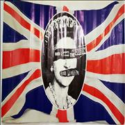 Click here for more info about 'Sex Pistols - God Save The Queen + Banner'