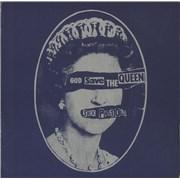 """Sex Pistols God Save The Queen - EX UK 7"""" vinyl"""
