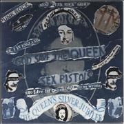 Click here for more info about 'God Save The Queen - Punk Art Sleeve'