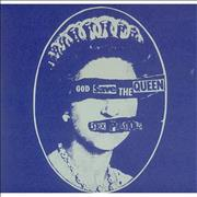 "Sex Pistols God Save The Queen UK 7"" vinyl"