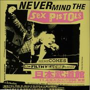 Click here for more info about 'Sex Pistols - Here Comes The Filthy Lucre Tour - Nine Handbills'