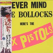 Click here for more info about 'Sex Pistols - Never Mind The Bollocks, Here's The Sex Pistols + Obi'