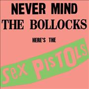 Click here for more info about 'Sex Pistols - Never Mind The Bollocks Here's The Sex Pistols - Peach & Green Sleeve - Sealed'