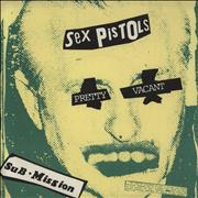 Click here for more info about 'Sex Pistols - Pretty Vacant - EX'