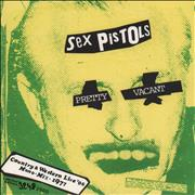 "Sex Pistols Pretty Vacant - RSD13 UK 7"" vinyl"