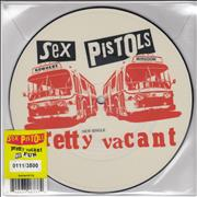"Sex Pistols Pretty Vacant UK 7"" picture disc"