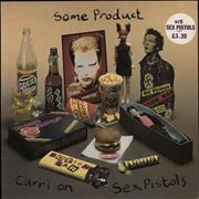 Click here for more info about 'Sex Pistols - Some Product - 1st - Stickered Sleeve'