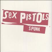 Sex Pistols Spunk - RSD 15 - White Vinyl UK vinyl LP