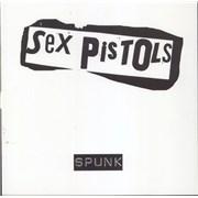 Sex Pistols Spunk - WHITE vinyl UK vinyl LP
