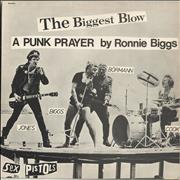 "Sex Pistols The Biggest Blow - EX UK 12"" vinyl"