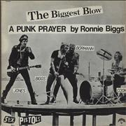 "Sex Pistols The Biggest Blow - Green Vinyl Australia 12"" vinyl"