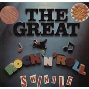 Sex Pistols The Great Rock 'N' Roll Swindle + Insert - 3 Stickers UK 2-LP vinyl set