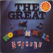 Click here for more info about 'Sex Pistols - The Great Rock 'N' Roll Swindle + Insert & Sticker - VG'