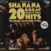 Click here for more info about 'Sha Na Na - 20 Great Rock 'N' Roll Hits - White Label'