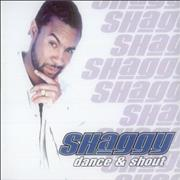 Shaggy Dance & Shout UK CD single Promo