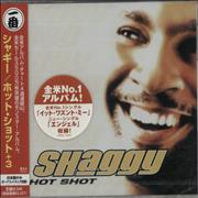 Shaggy Hot Shot Japan CD album Promo