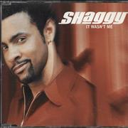 Shaggy It Wasn't Me (Radio Edit) UK CD single Promo