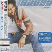 Shaggy Lucky Day Japan CD album Promo