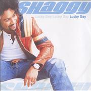 Shaggy Lucky Day UK CD-R acetate Promo