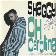 "Shaggy Oh Carolina UK 7"" vinyl"
