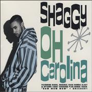 Shaggy Oh Carolina UK CD single