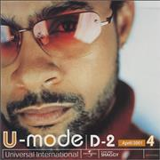 Click here for more info about 'Shaggy - U-Mode D2 April 2001'