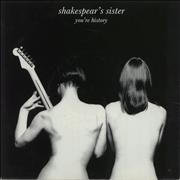 Click here for more info about 'Shakespears Sister - You're History - Injection Moulded'