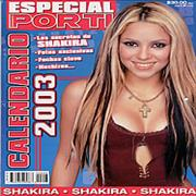 Click here for more info about 'Shakira - Calendario 2003'