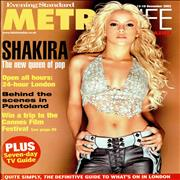 Click here for more info about 'Shakira - Evening Standard - Metro Life'