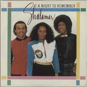 Click here for more info about 'Shalamar - A Night To Remember + Sleeve'