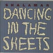 Click here for more info about 'Shalamar - Dancing In The Sheets - gold stamp'