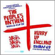 Click here for more info about 'Sham 69 - Hurry Up England - The Peoples Anthem'