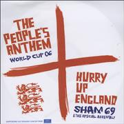 Click here for more info about 'Sham 69 - Hurry Up England - The People's Anthem'