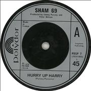 Click here for more info about 'Sham 69 - Hurry Up Harry'