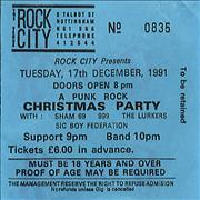 Click here for more info about 'Sham 69 - Rock City'