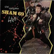 Click here for more info about 'Sham 69 - The Complete Sham 69 Live - Autographed'
