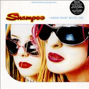 Click here for more info about 'Shampoo - I Know What Boys Like - Red Vinyl'
