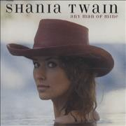 Shania Twain Any Man Of Mine UK CD single