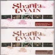 Shania Twain Don't! UK 2-CD single set