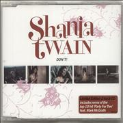 Click here for more info about 'Shania Twain - Don't!'