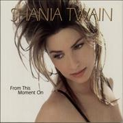 Shania Twain From This Moment On USA CD single Promo