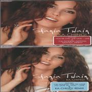 Shania Twain Ka-Ching! UK 2-CD single set