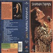 Click here for more info about 'Shania Twain - Live - Autographed Insert'