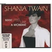 Shania Twain Man I Feel Like A Woman - Slimline Australia CD single