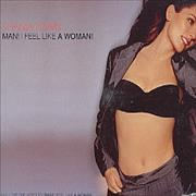 Shania Twain Man! I Feel Like A Woman! UK CD single