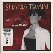 Shania Twain Man! I Feel Like A Woman! Australia CD single