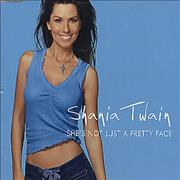 Shania Twain She's Not Just A Pretty Face UK CD single Promo