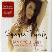Shania Twain Thank You Baby! (For Makin' Someday Come So Soon) UK 2-CD single set