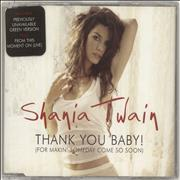 Click here for more info about 'Shania Twain - Thank You Baby! (For Makin' Someday Come So Soon!)'